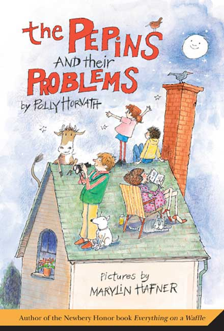 The Pepins and Their Problems By Horvath, Polly/ Hafner, Marylin (ILT)